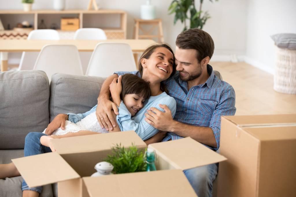 déménagement famille enfant